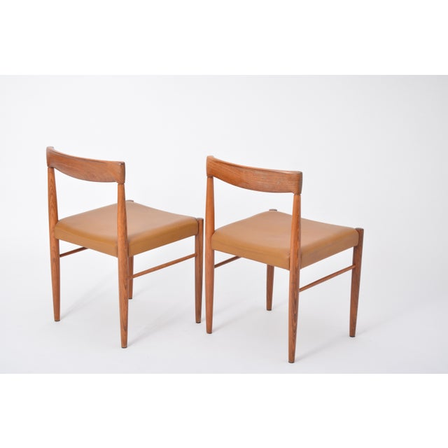 Set of 8 Midcentury Dining Chairs by h.w. Klein for Bramin For Sale - Image 9 of 12