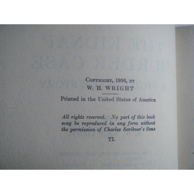 1930s Vintage Mystery Spiderweb Books - Set/3 - Image 6 of 7