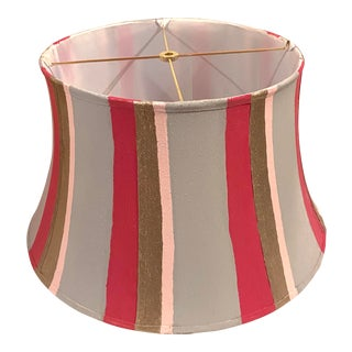 Hand Painted Custom Modern Lampshade For Sale