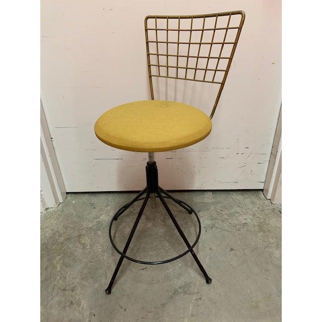 Tremendous Vintage Mid Century Adjustable Desk Drafting Stool Unemploymentrelief Wooden Chair Designs For Living Room Unemploymentrelieforg