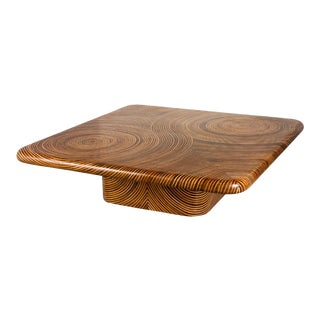 Showtime Ribbon Square Coffee Table For Sale
