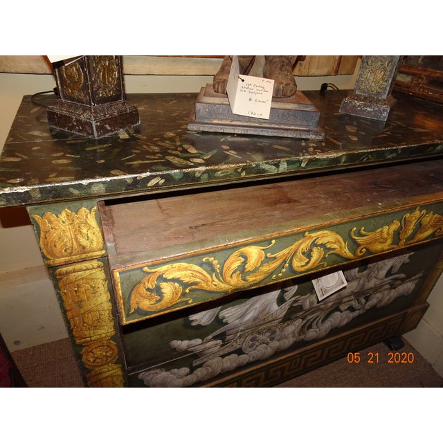 20th Century Italian Empire Commode For Sale - Image 9 of 12