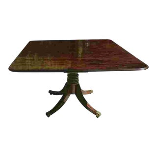 Early 19th C. English Regency Period Dining Table For Sale