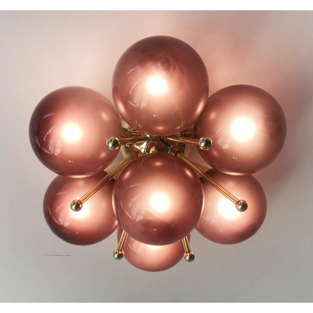 Fabio Ltd Sakura Flush Mount / Sconce by Fabio Ltd For Sale - Image 4 of 9