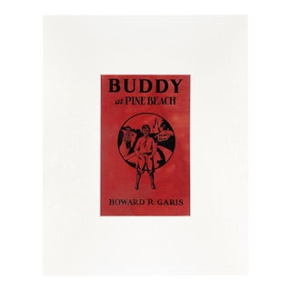 "Vintage ""Buddy at Pine Beach"" Book Cover Art For Sale"