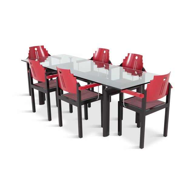Le Corbursier Lc6 Dining Table for Cassina For Sale - Image 10 of 13