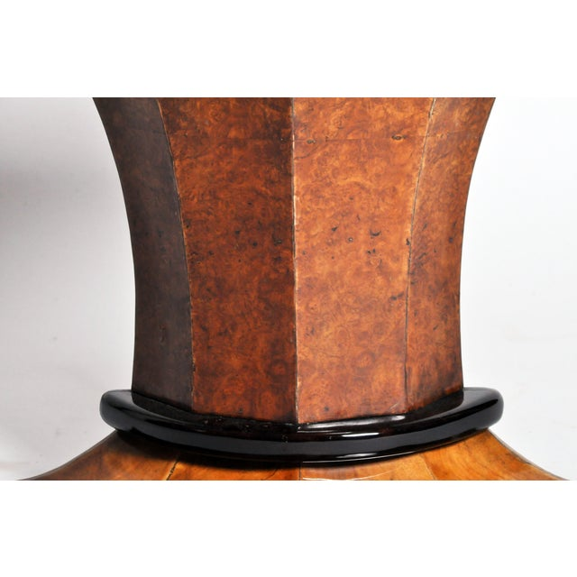 Art Deco Pedestal Console Table For Sale - Image 10 of 11