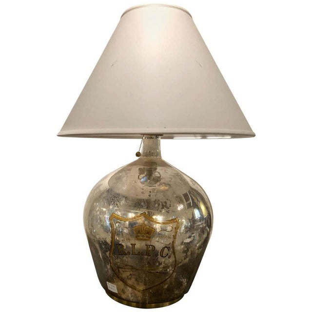 Ralph Lauren Mercury Glass Table Lamp For Sale - Image 12 of 12