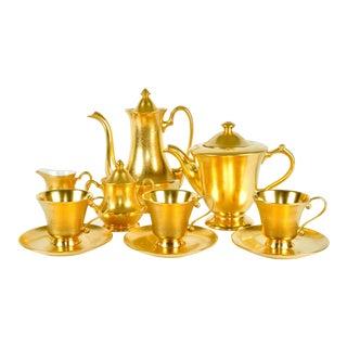 Gold Porcelain Pickard Service