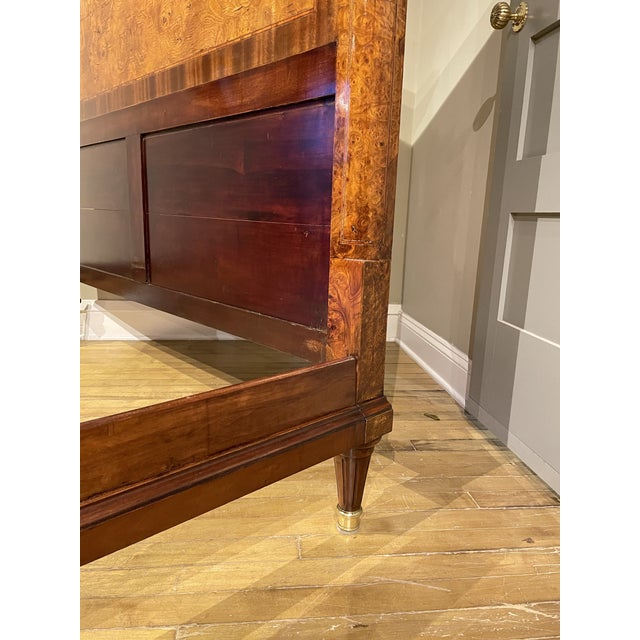 Brown 19th Century French Empire Bed For Sale - Image 8 of 10