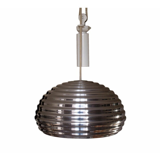 Achille Castiglioni Splügen Brau Counterweighted Pendant Light For Sale In New York - Image 6 of 6