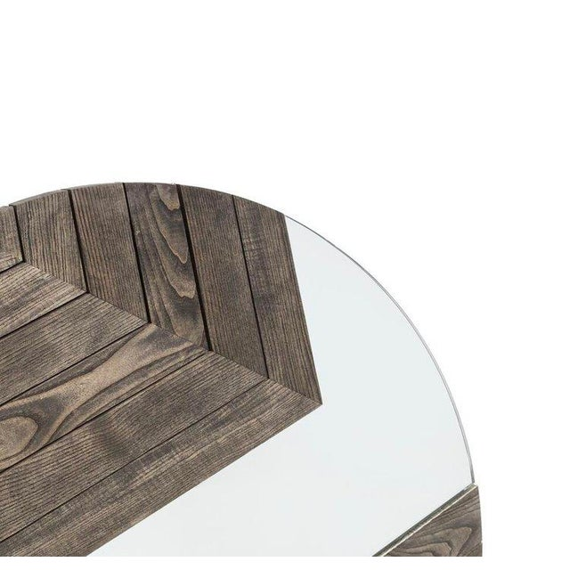 Built from solid Ash and precision cut mirror, the Cornerstone Mirror is both art and reflection. Each mirror has two...
