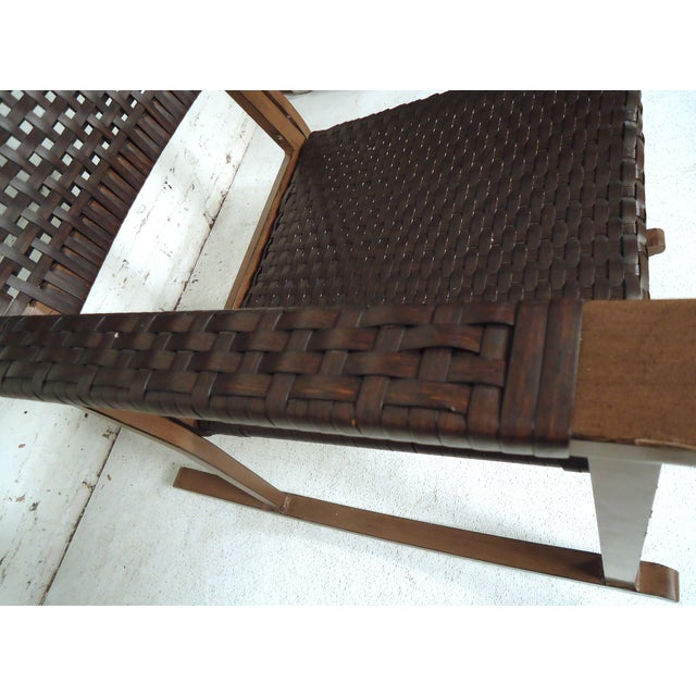 Mid Century Modern Style Rocker For Sale - Image 9 of 10