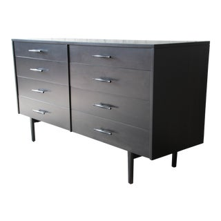 Paul McCobb Planner Group Ebonized Eight-Drawer Dresser or Credenza