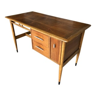 Mid Century Modern Lane Acclaim Desk Console Table Storage For Sale