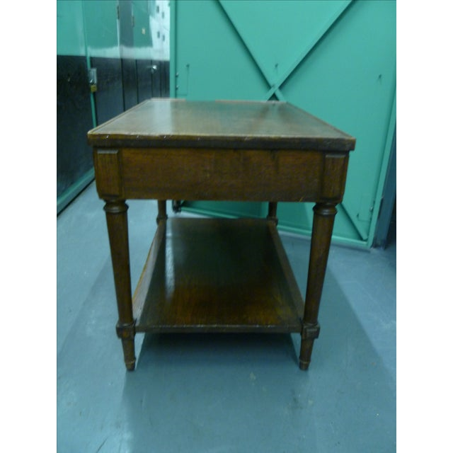 Antique French Mahogany Side Tables - Pair - Image 11 of 11