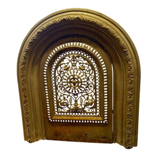 Cast Iron Victorian Fireplace Surround