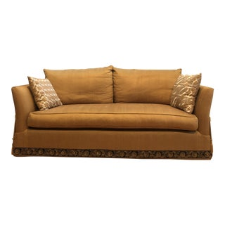 Gold Marge Carson Sofa For Sale