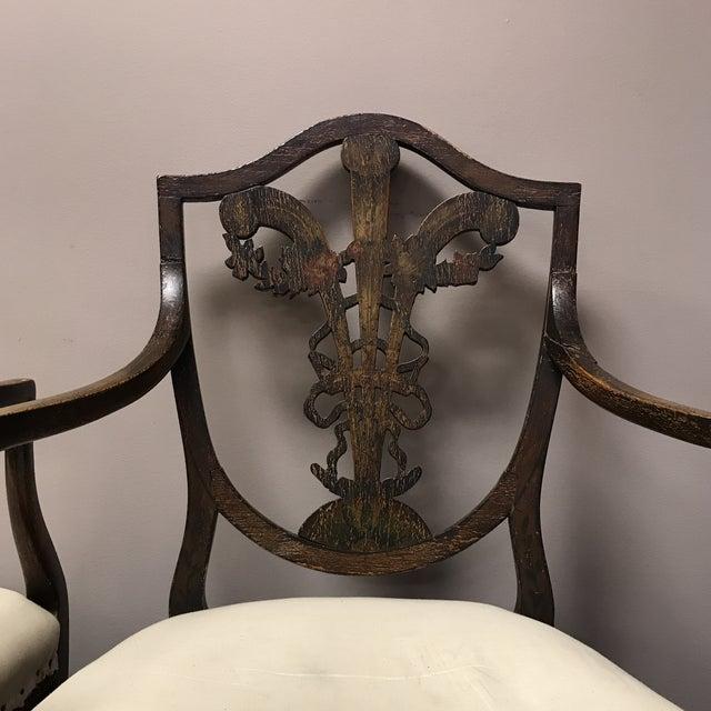 C. 1795 English Hepplewhite Chairs - A Pair - Image 2 of 10