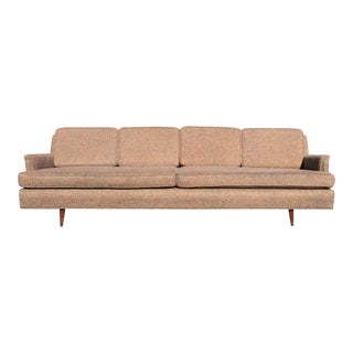Mid-Century Reupholstered Couch