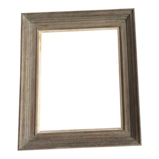 Faux Painted Wood Picture Frame For Sale