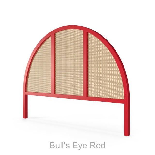 Eva Headboard - King - Bull's Eye Red For Sale - Image 4 of 4