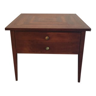 American of Martinsvill Walnut Side Table For Sale