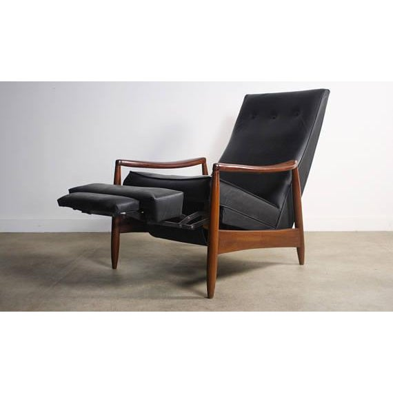 About this Early Milo Baughman Highback Recliner Lounge Chair for James Inc Early Milo Baughman recliner for James Inc...