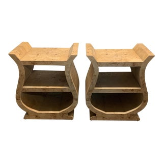 1950s French Freeform Side Tables - a Pair For Sale