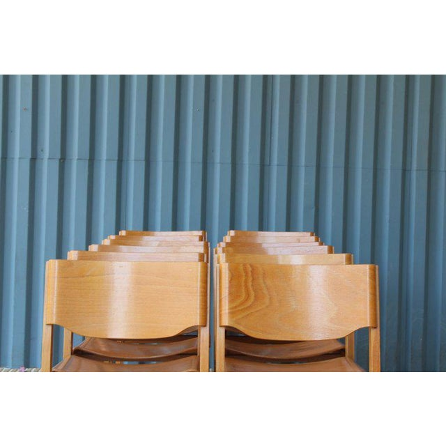 Dining Chairs by Joamin Baumann, France, 1960s For Sale - Image 12 of 13