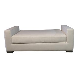 Modern Restoration Hardware Hayden Bench For Sale