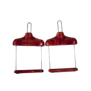 1940's Decorative Clothing Display Hangers - a Pair
