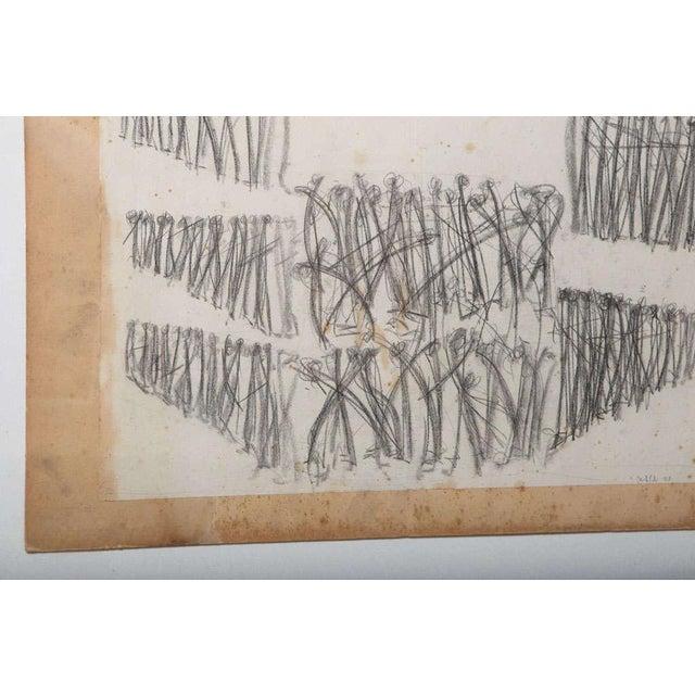 Original Charcoal Bauhaus Style Art - Image 2 of 9