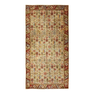 Vintage Mid-Century German Rug - 6′11″ × 13′5″ For Sale
