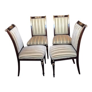 Ej Victor Nicolette Style Dining Chairs, Set of 4 For Sale