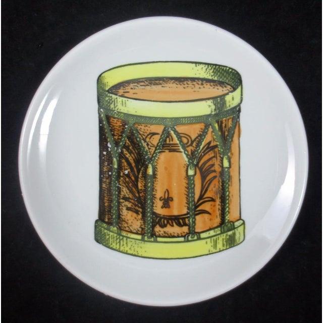 Set of Eight Mid-century Bucciarelli Musical Coasters, Circa 1960. (Ref: NY8615/ar) A wonderful set of eight small plates...