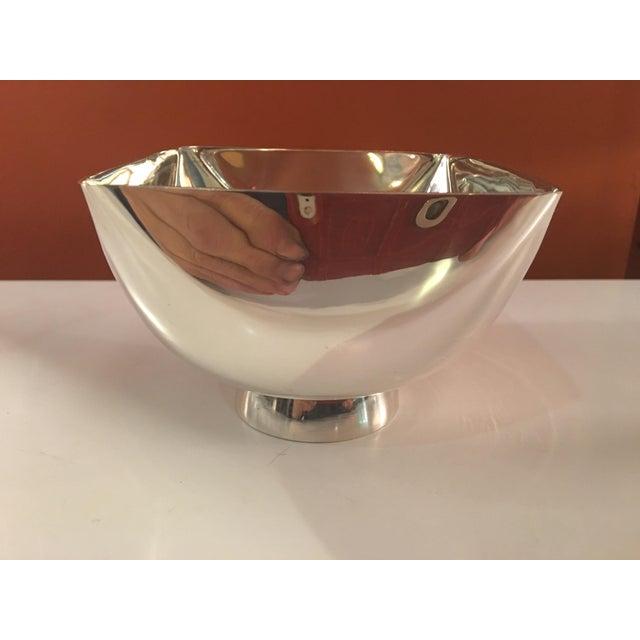 Mid-Century Modern Ward Bennett Silverplate Bowl For Sale - Image 3 of 12