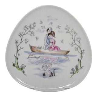 Peynet for Rosenthal Porcelain Catchall For Sale