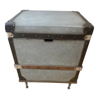 Pottery Barn Kirkwood Trunk End Table For Sale