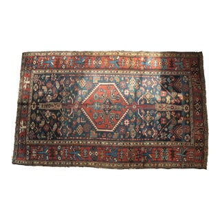 Antique Hamadan Persian Rug - 3'7'' x 5'9''