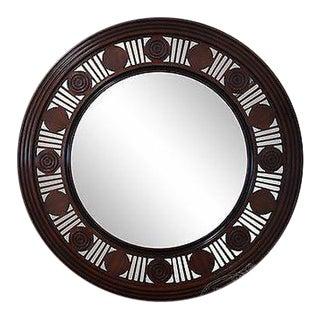 William Yeoward for Jonathan Charles Penn Stewart Round Mirror For Sale