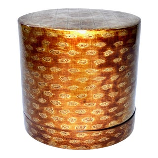 Large Burmese Lacquered Betel Box
