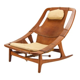 Arne F. Tidemand Ruud for ​Norcraft Danish Modern Lounge Chair