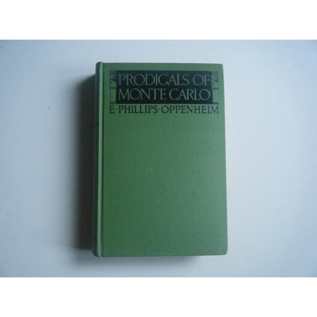 Prodigals of Monte Carlo, Vintage 1920s Book - Image 2 of 3