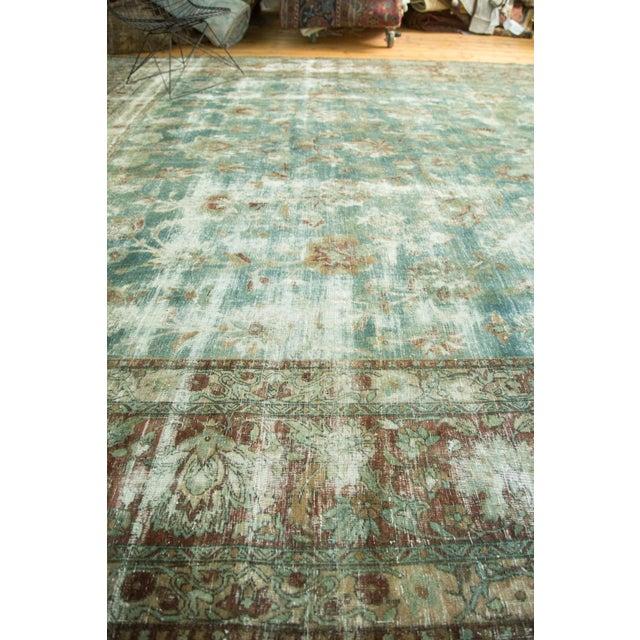 """Vintage Kerman Carpet - 9'9"""" x 13'2"""" For Sale - Image 9 of 10"""
