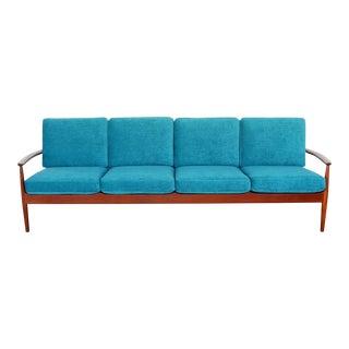 Danish Modern Teak Sofa by Grete Jalk