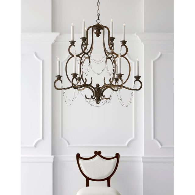 Visual Comfort Niermann Weeks Lombary Double Tiered Chandelier - Image 11 of 11