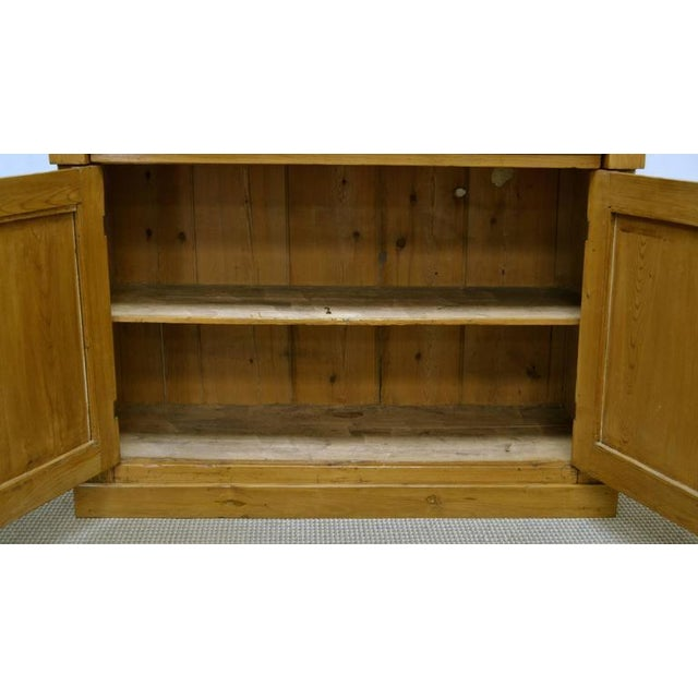 Brown Country Pine and Beech Chiffonier For Sale - Image 8 of 10