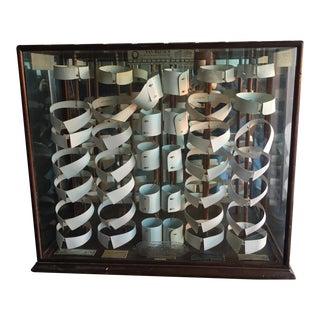 Antique Van Heusen Collar Display Case