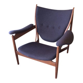 Classic Finn Juhl Style Chieftains Chair For Sale